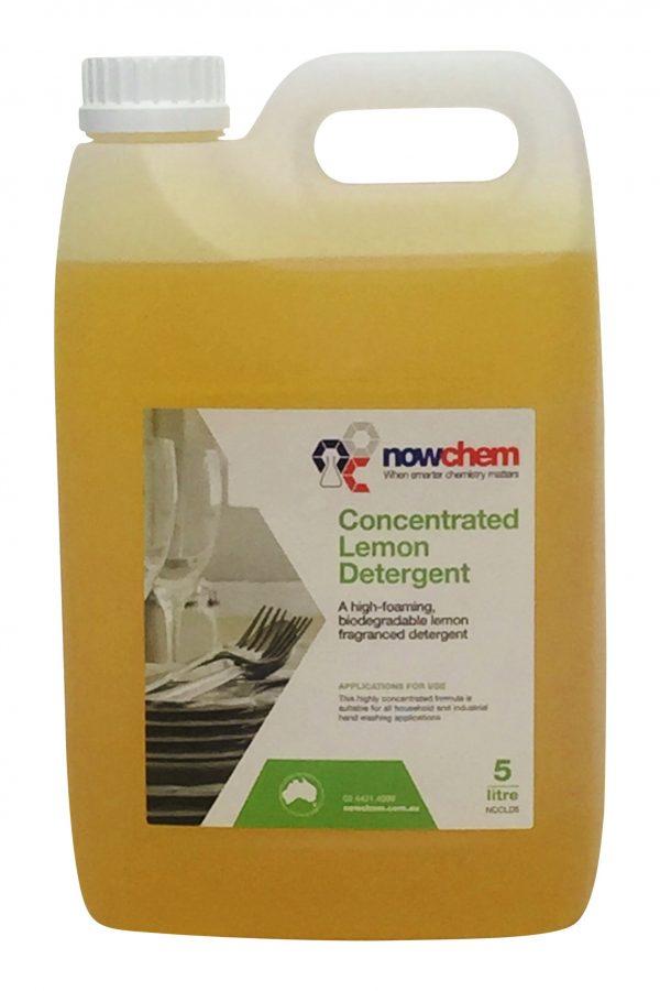 Concentrated Lemon Detergent