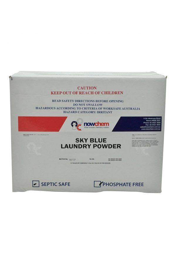 Sky Blue Laundry Powder