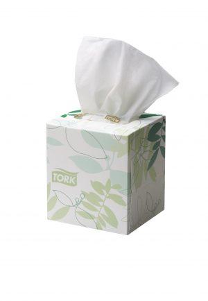 Tork Extra Soft Facial Tissue Cube