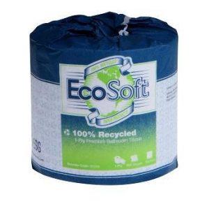 Ecosoft Premium Green Toilet Tissue, 2ply, 400 sheet
