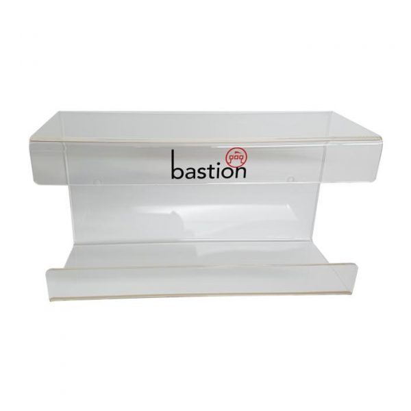 Bastion Single Glove Dispenser Acrylic