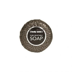 Body Zone Vegetable Soap In Shrink Wrapped Foil 40g
