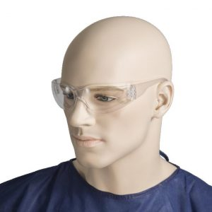 Safety Glasses Clear Scratch Resistant
