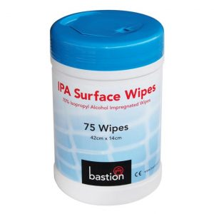 Ipa Surface Wipes 75 Sheets 42x14cm ( Isopropyl Alcohol Wipes)