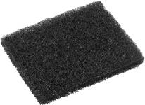Black Nylon Griddle Cleaning Pad