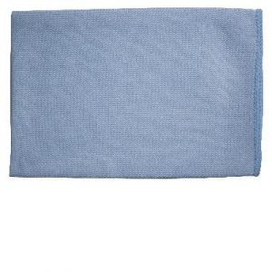 Oates DuraClean Thick Microfibre Blue Glass Cloth 40 X 40