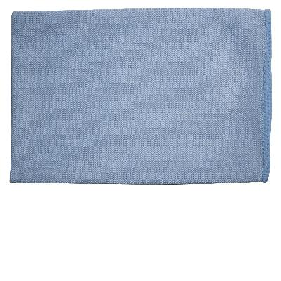 Oates DuraClean Thick Microfibre Blue Glass Cloth 40 X 40