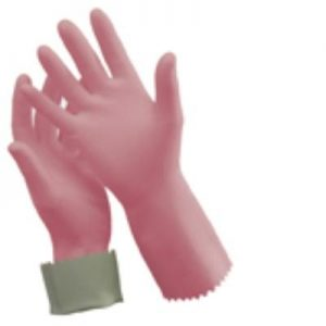 Silver Lined Rubber Gloves