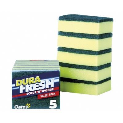 Oates Durafresh Scour N Sponge Full Ctn