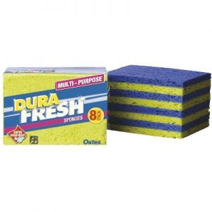 Durafresh All Purpose Sponges 8pk