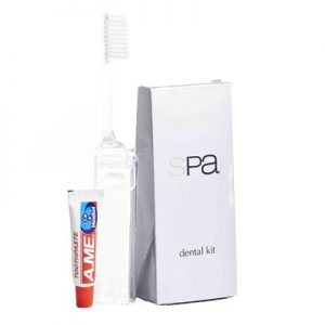 Spa Collection Dental Kit In Trapeze Pack 500/carton
