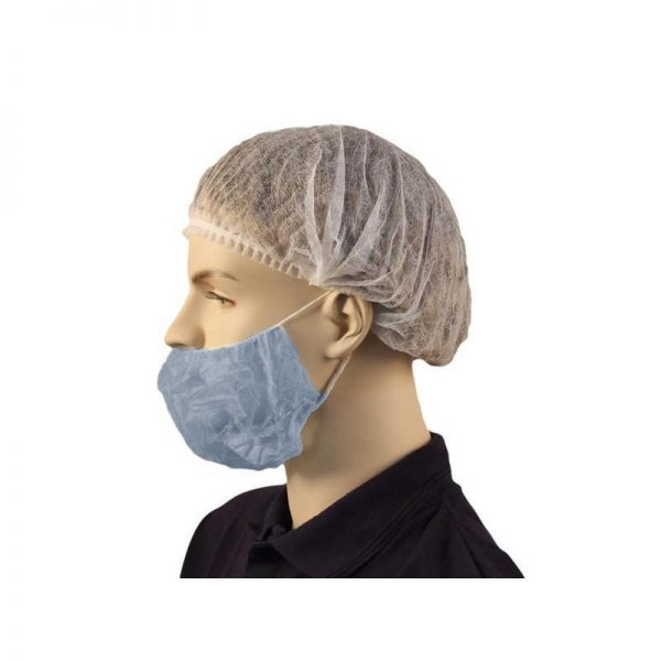 Beard Cover Blue Double Loop