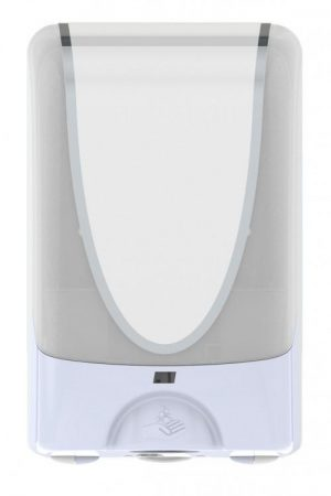 White Touch Free Hand Dispenser