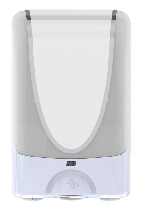 White Touch Free Hand Dispenser